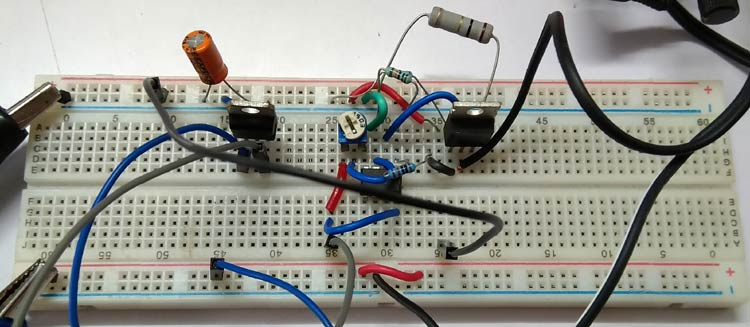 Overcurrent Protection using Op Amp Testing