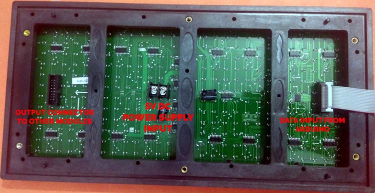 P10 display module