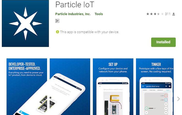 Particle IoT App