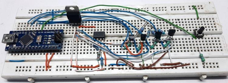 Programmable Gain Amplifier Circuit Setup
