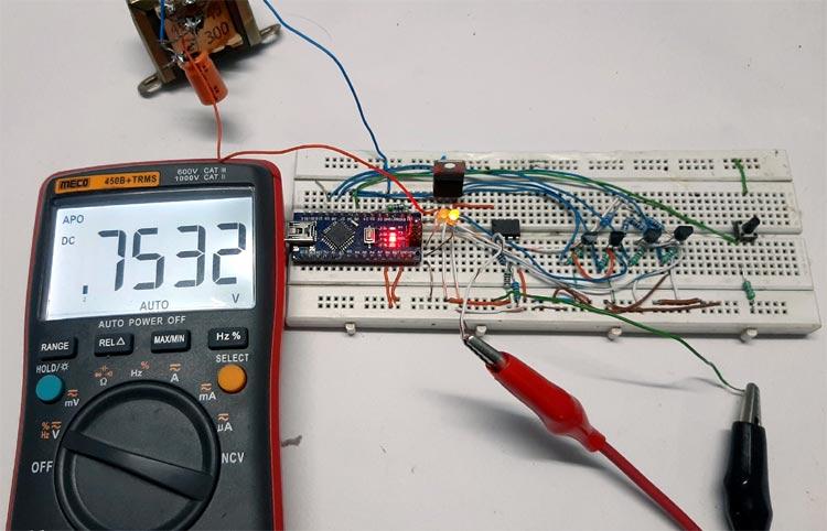 Programmable Gain Amplifier Circuit Testing