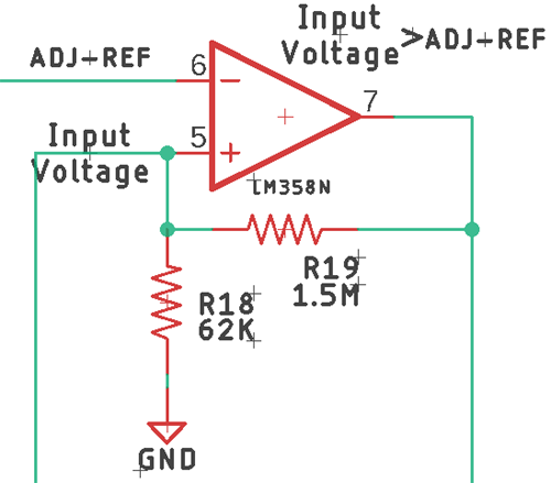 Protection Circuit using Op AMP