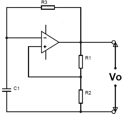 Relaxation Oscillator Circuit