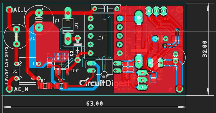 SMPS PCB Designing