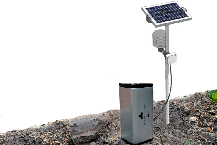 Solar Powered IoT Station