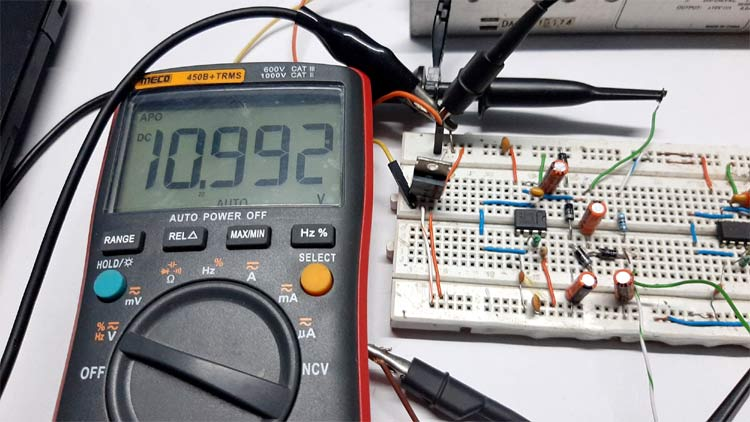 Charge Pump Circuit using 555 Timer Working