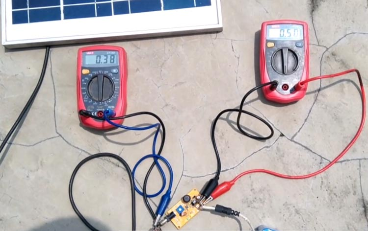 MPPT Solar Charger Working