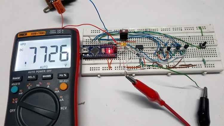 Testing Programmable Gain Amplifier