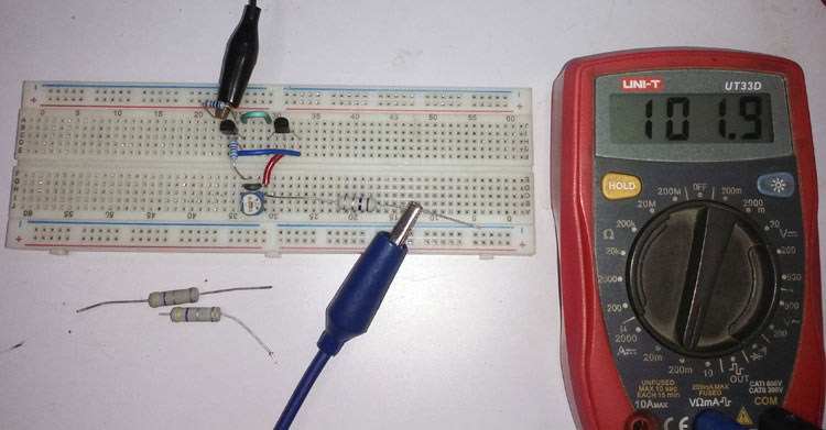 Testing the Simple Constant Current Generator Circuit