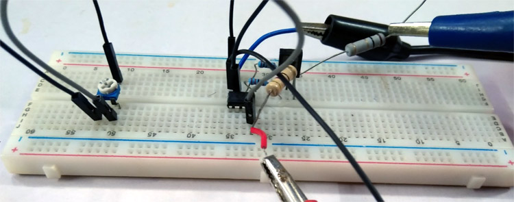 Voltage controlled current sink Circuit Working