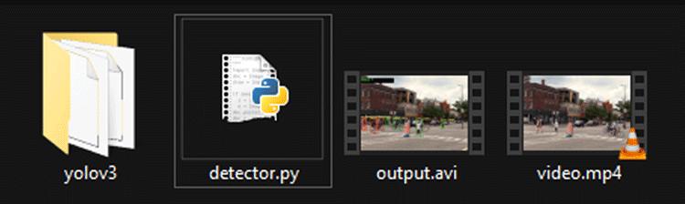 YoloV3 Directory