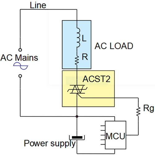 ACS TRIAC Application Circuit
