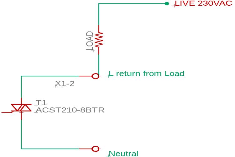 ACS TRIAC Circuit