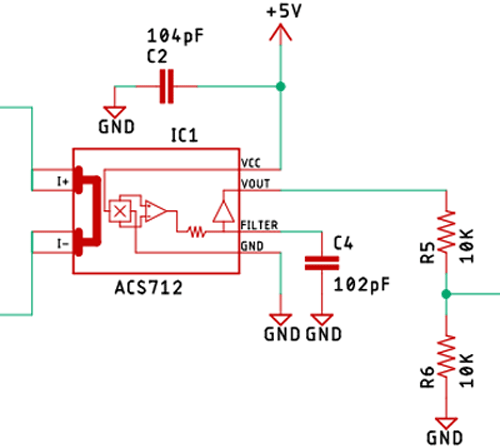 ACS712 Current Sensor IC