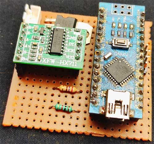 Arduino Based Weighing Machine Board