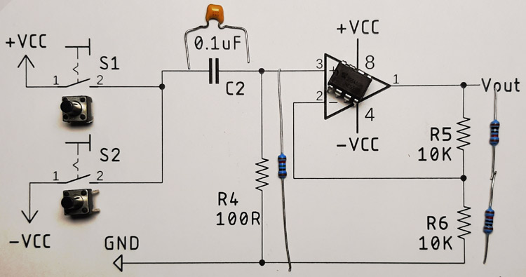 Bistable Multivibrator Circuit Components