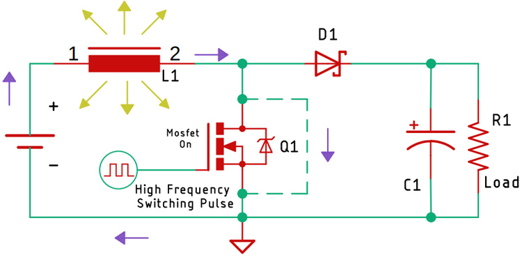 Boost Converter Circuit Working