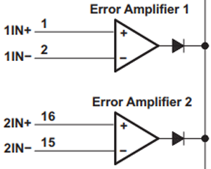 Error Amplifier Circuit