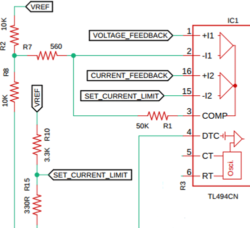 Feedback and Control Loop Circuit