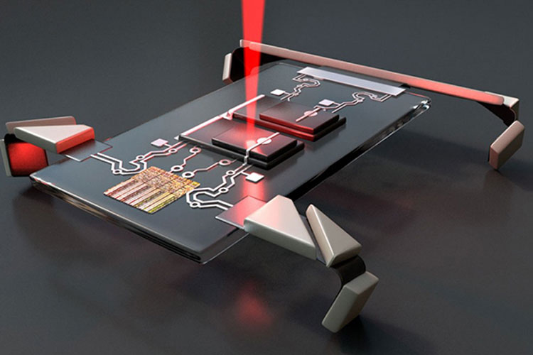 Laser Activated Microscopic Robot