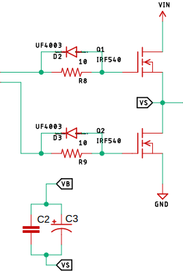 MOSFET Output Stage