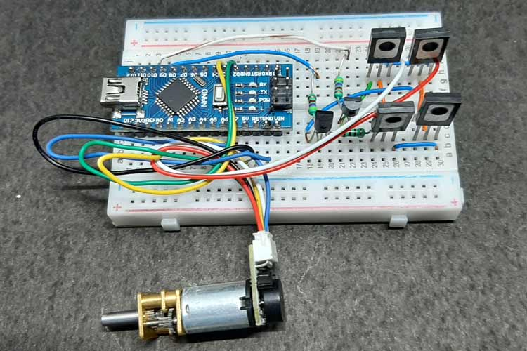 PID Enabled Motor Controller