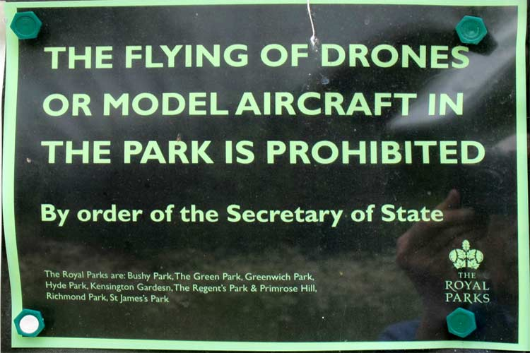 Regulations for Flying a Drone
