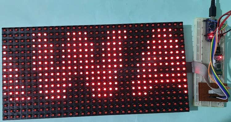 Smartphone Controlled Scoreboard