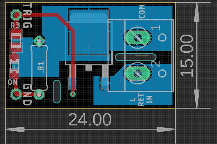 Solid Sate Relay using TRIAC