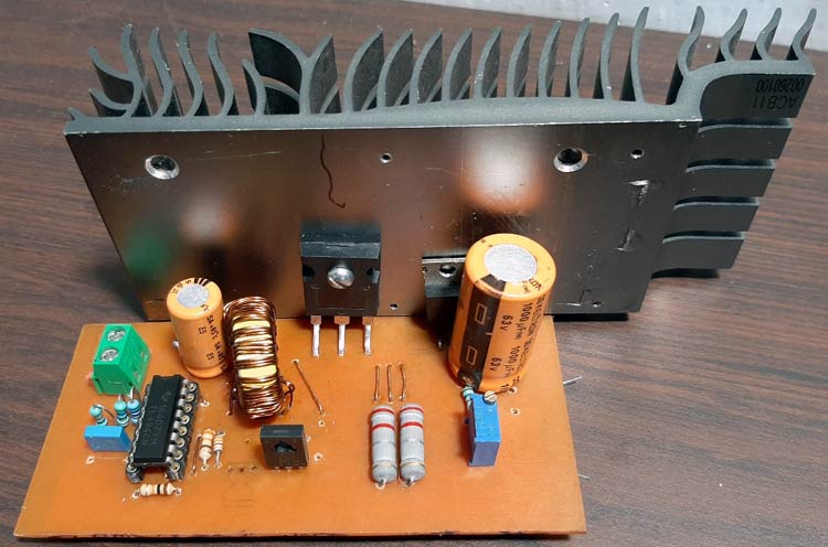 TL494 Based Boost Converter Board