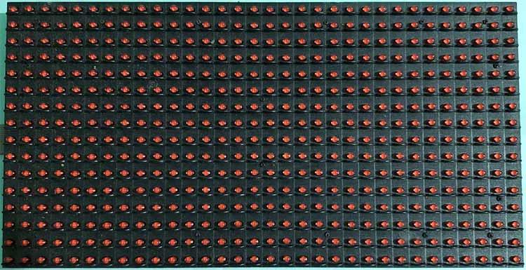 The P10 LED Display Matrix