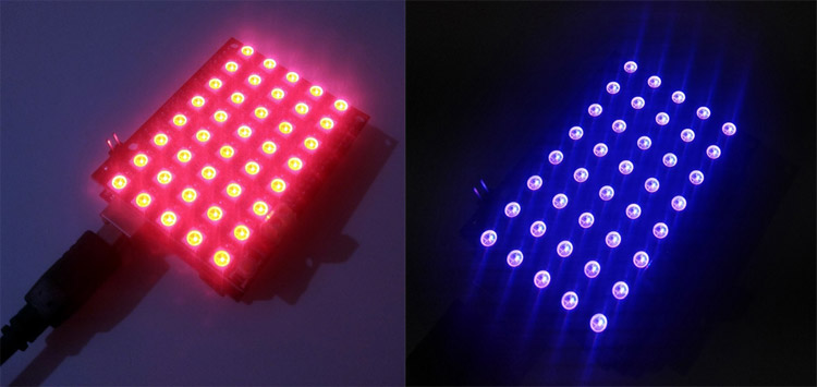 WS2812B RGB LED Shield with Arduino