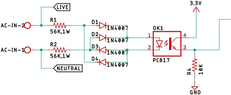 Zero Crossing Detection Circuit Diagram_0