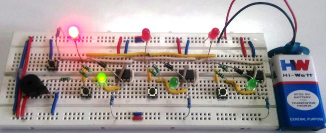 Simple Buzzer Interface Circuit Diagram Simple Buzzer Interface