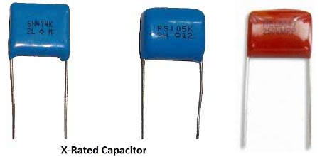 x rated capacitors