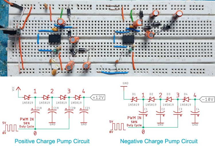 555 Timer Charge Pump Circuit