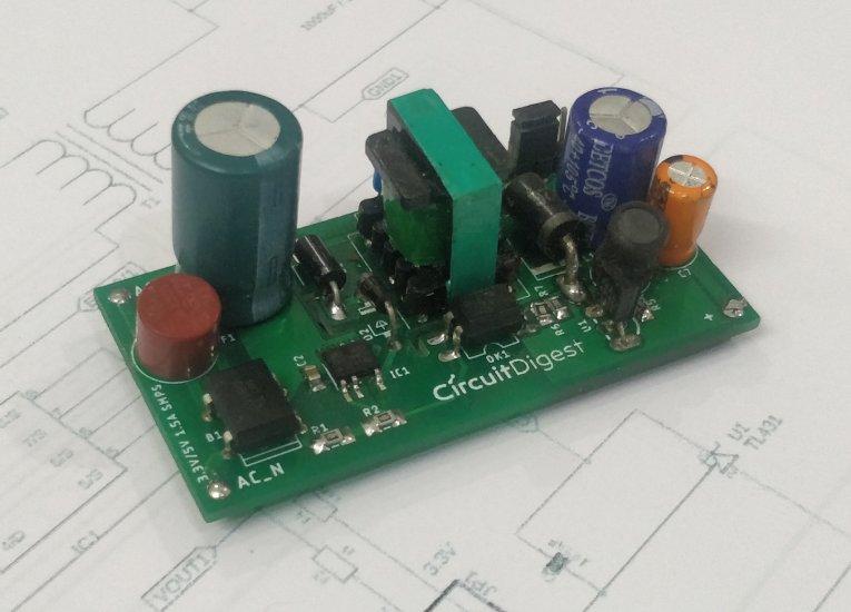 5V 3.3V SMPS Circuit Design