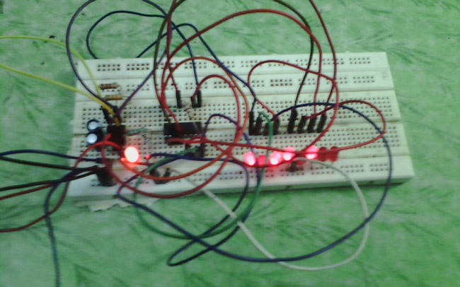 binary counter circuit diagram using ic 555 timer 555 timer based binary counter circuit diagram