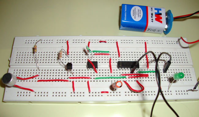 Perfect Clap On Clap Off Switch Using 555 Timer IC Great Pictures