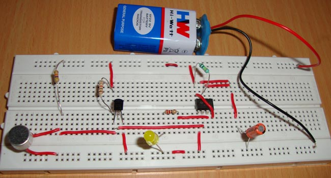 Simple Vibration Detector Circuit Making Easy Circuits