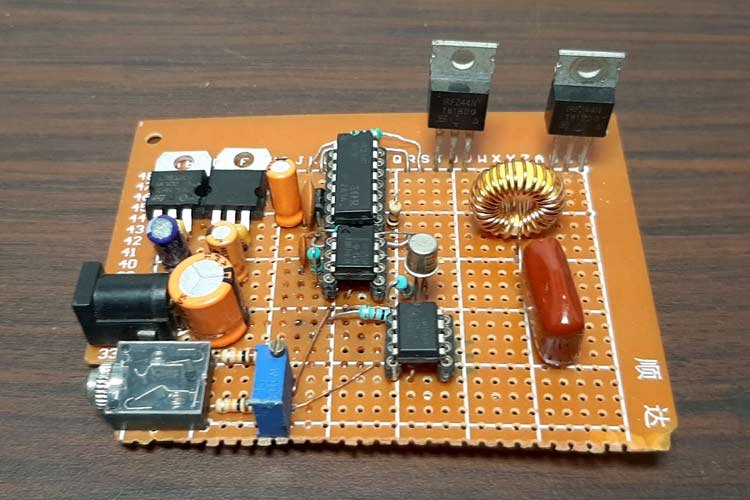 Class-D Audio Amplifier with MOSFET