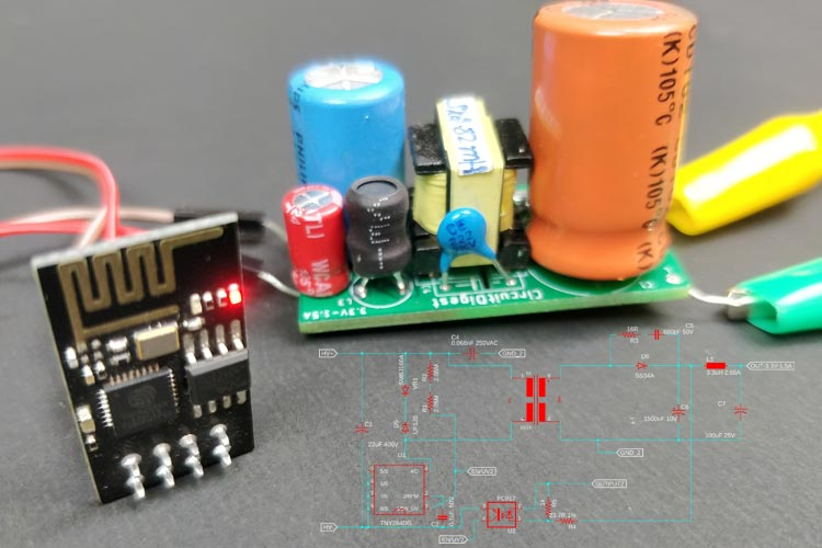 Compact 3.3V/1.5A SMPS Circuit Design