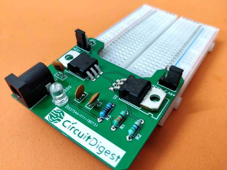 diy breadboard power supply circuit on pcbAt Pc Power Supply 1 Electronic Circuit By Levone #3