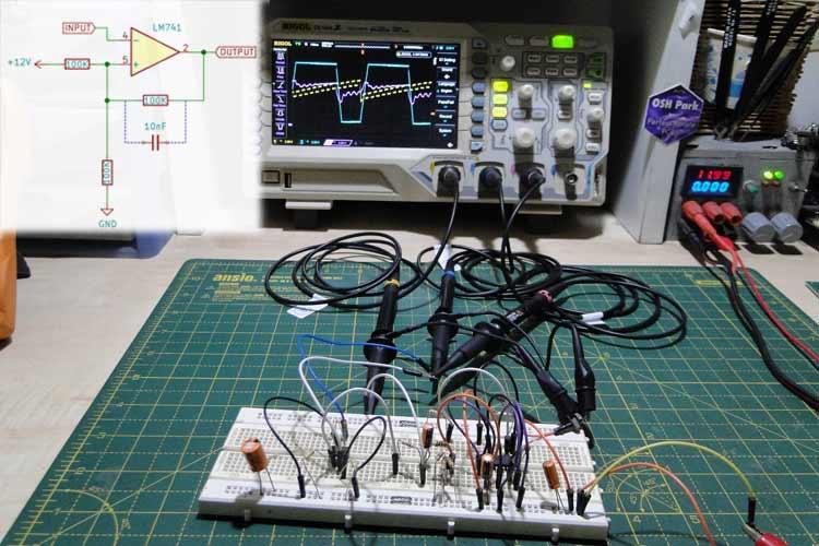 Designing a Schmitt Trigger using Op-Amp