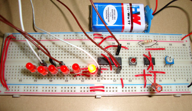 digital dice circuit diagram using ic 555 ic 4017 rh circuitdigest com