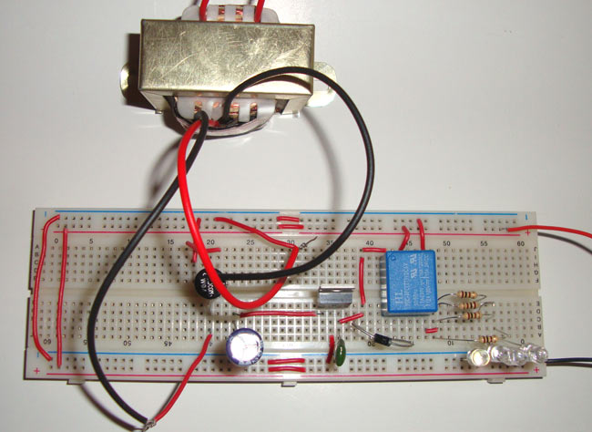 Emergency light circuit diagram diy led emergency light ccuart Image collections
