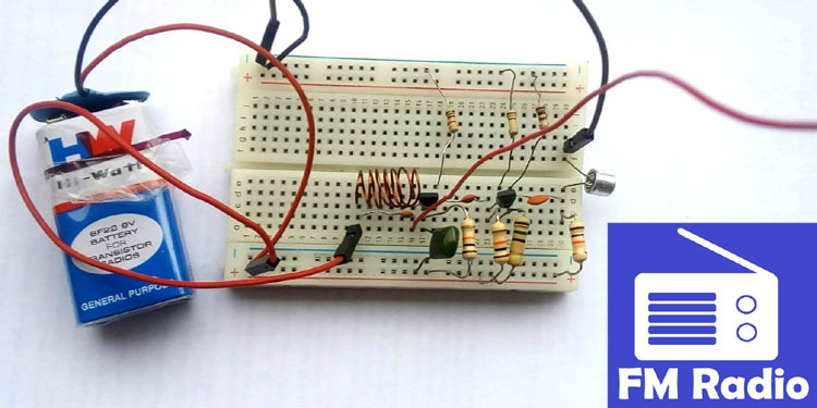 how to build fm transmitter circuitHow To Build The Circuit #1