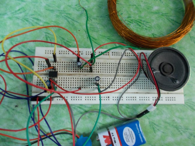 Electronic Circuits and Projects: A Simple DIY Metal Detector ...
