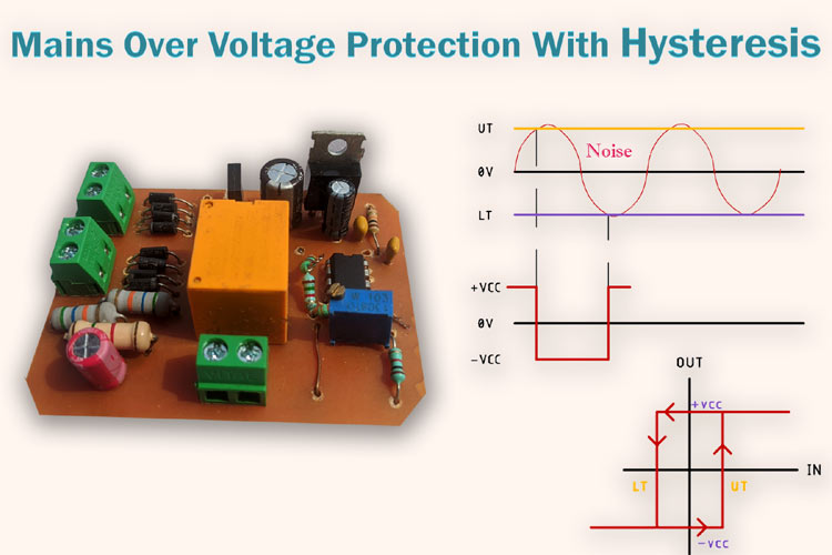 230v Ac Mains Over Voltage Protection Circuit Diagram