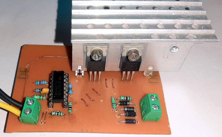 PWM Inverter Circuit using TL494